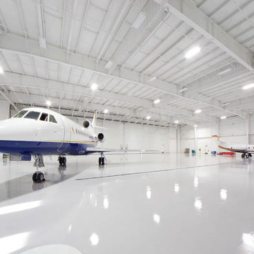 White Lodging Hangar 4