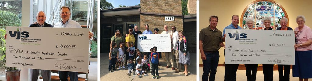 VJS Donates Proceeds from 3rd Annual Golf Outing to Three Non-Profit Organizations 1