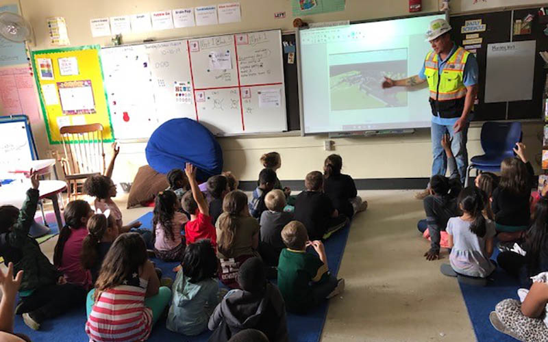 VJS Staff Share Building Experience with Wauwatosa School District Underwood Elementary School Students 1