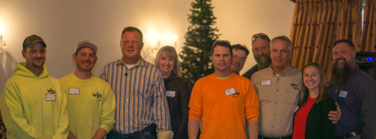 VJS Employees Celebrate the Holidays 2