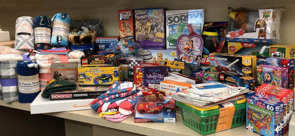 VJS Construction Services Holds Toy Drive Benefiting Rogers Behavioral Health and the United Community Center 1