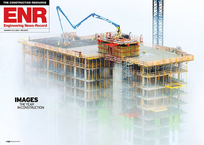 Saint John's On The Lake Project Featured on Cover of ENR Magazine 1