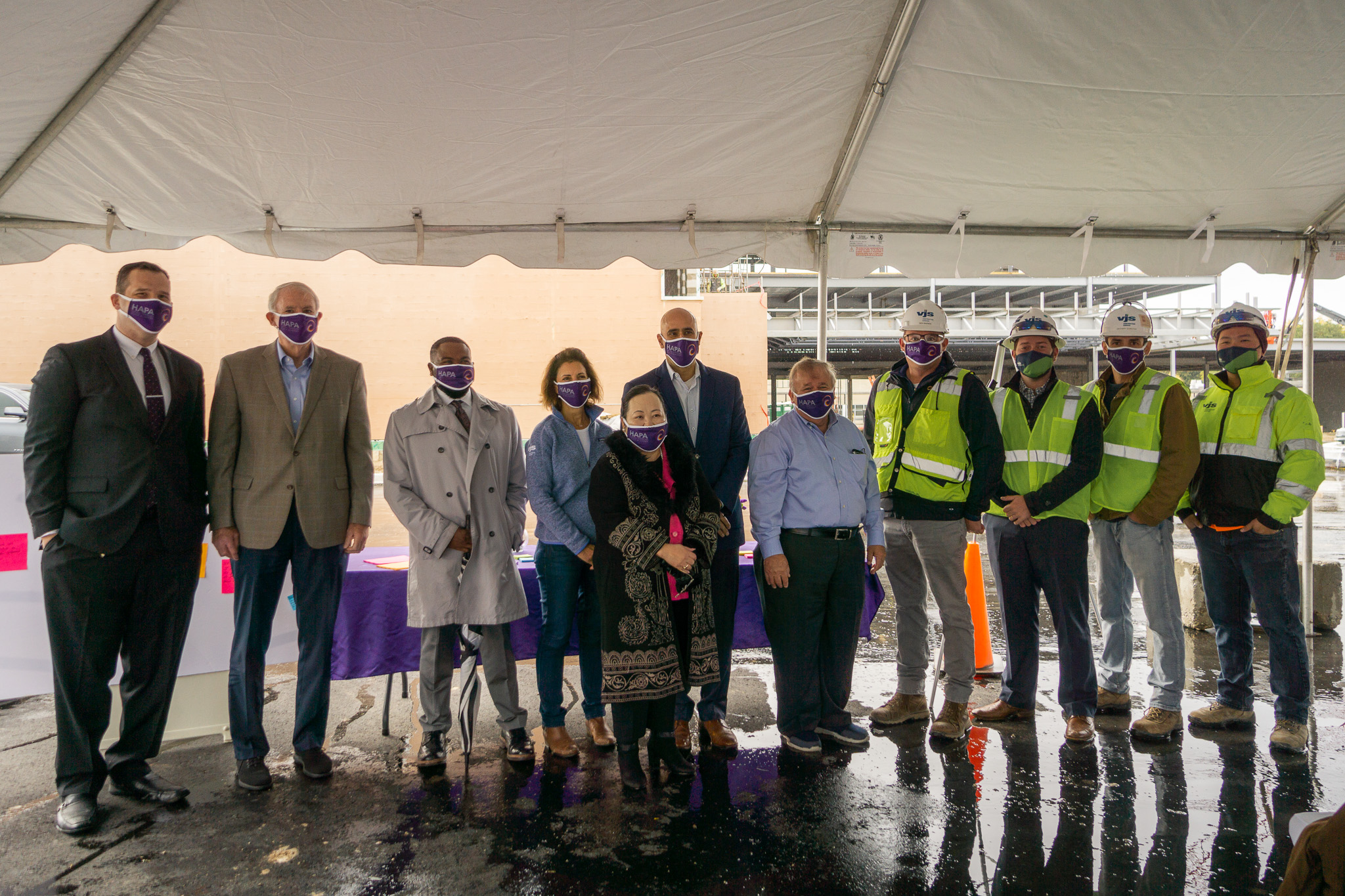 HAPA Holds Construction Progress Celebration 1