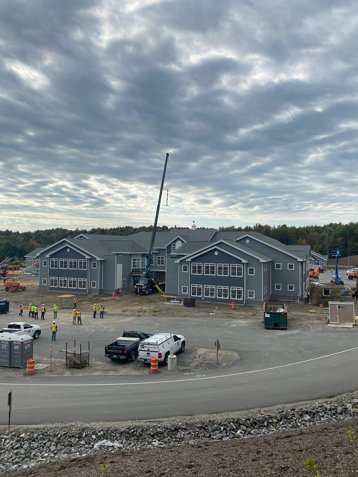 Cupola Topping Out Celebration at Maine Veterans' Home 1