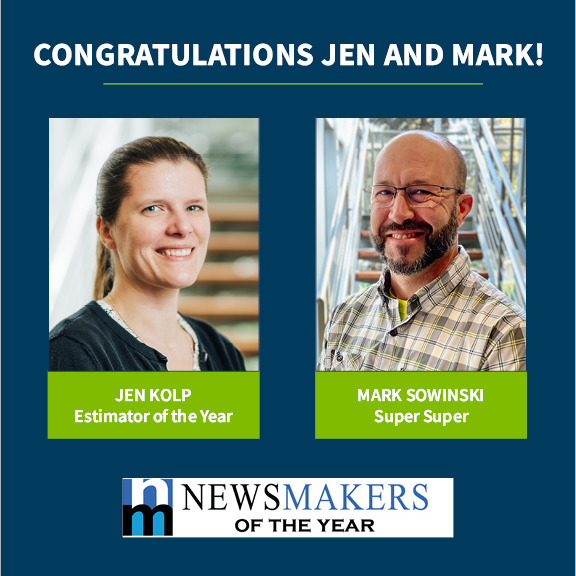 VJS Construction Services Employees Honored with Newsmakers of the Year Awards 1