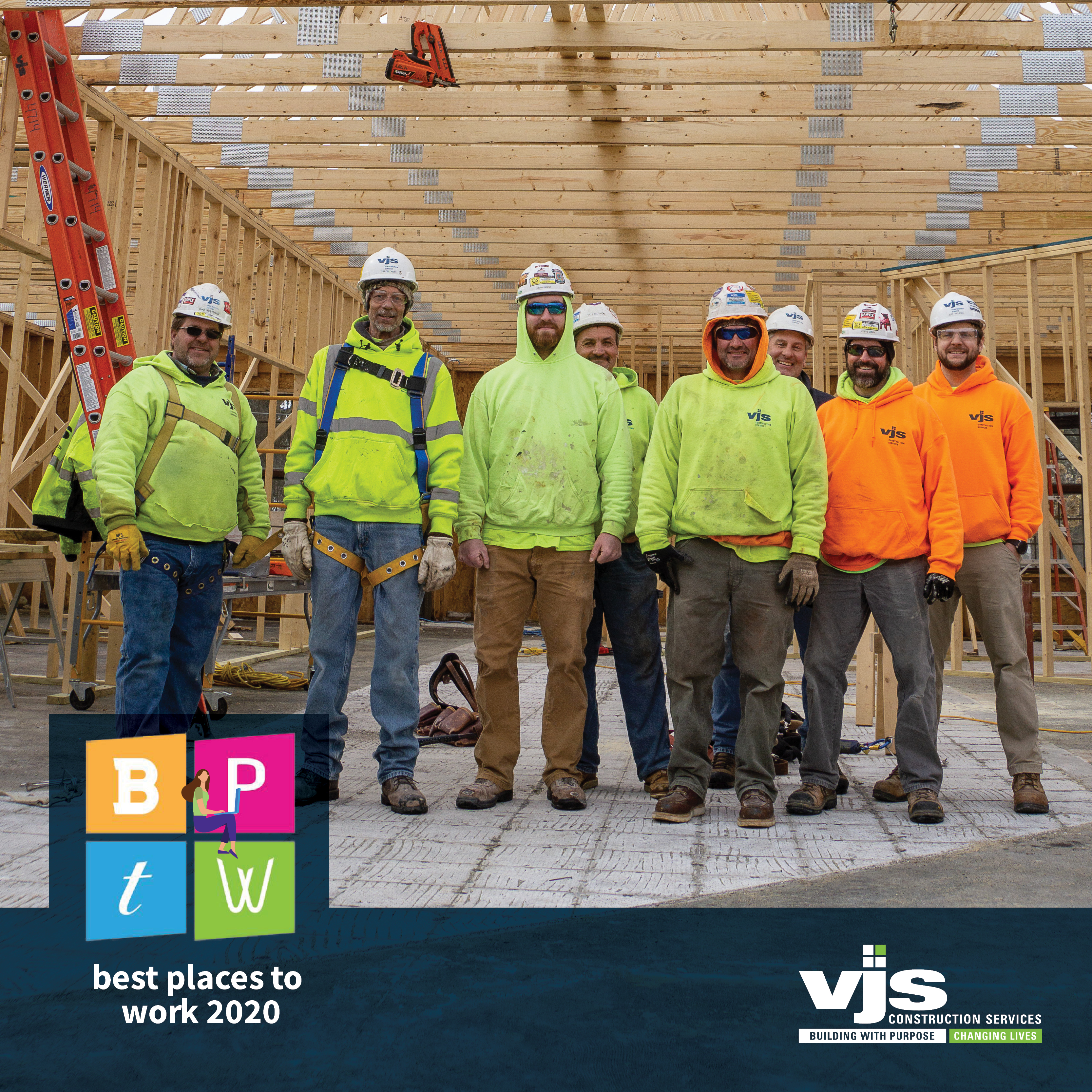 VJS Construction Services Receives 2020 Best Places to Work Award from the Milwaukee Business Journal 1
