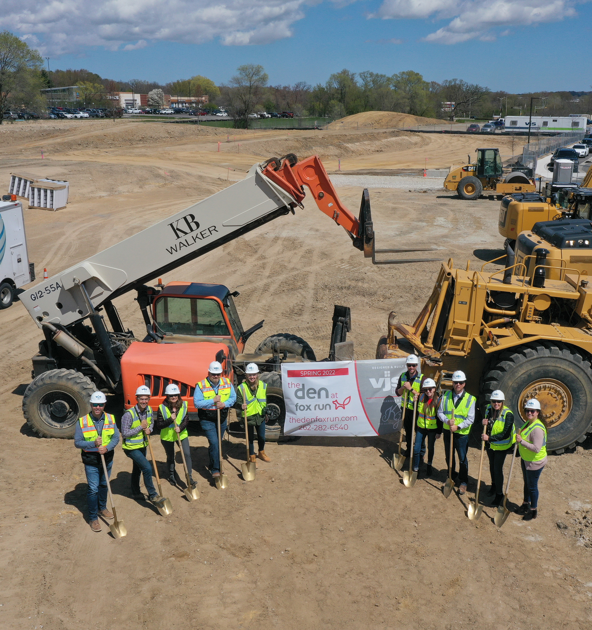 The Den at Fox Run Breaks Ground in Waukesha 1