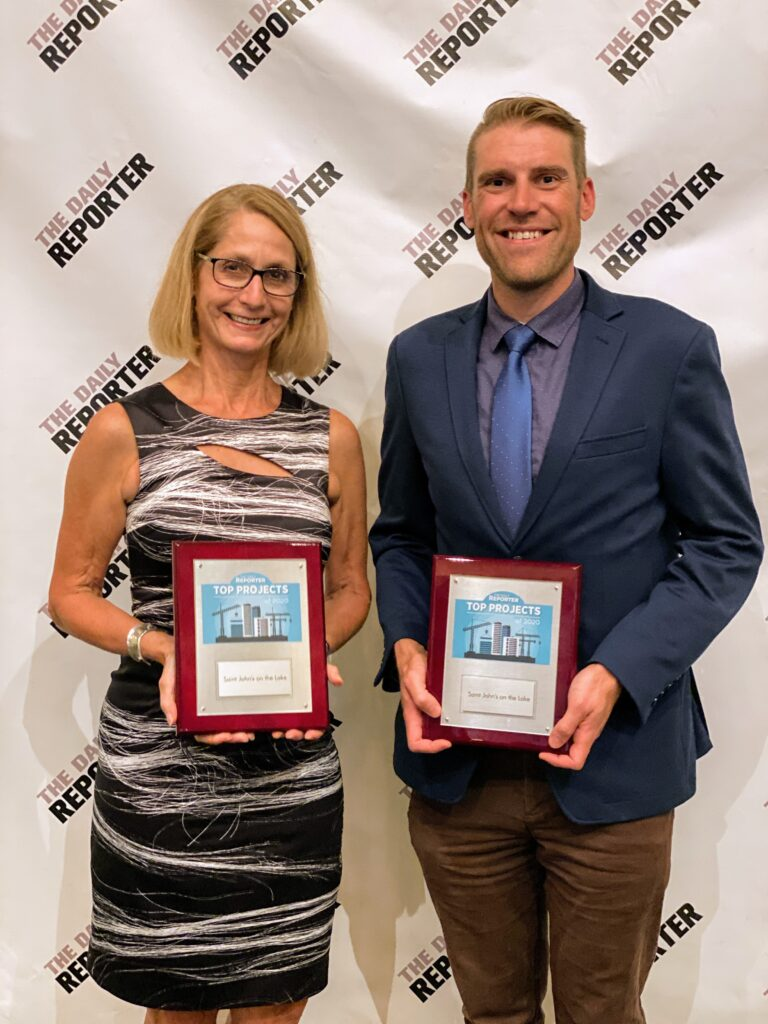 VJS Takes Home Two Top Project Awards from the Daily Reporter 4