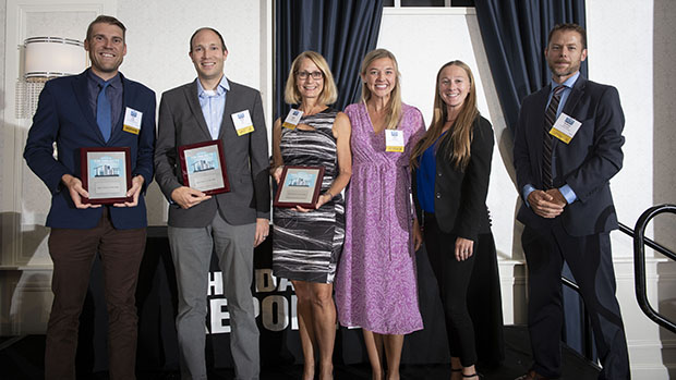 VJS Takes Home Two Top Project Awards from the Daily Reporter 1